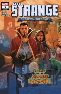 Doctor Strange: Surgeon Supreme #5